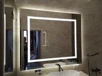 Зеркало с двойной подсветкой