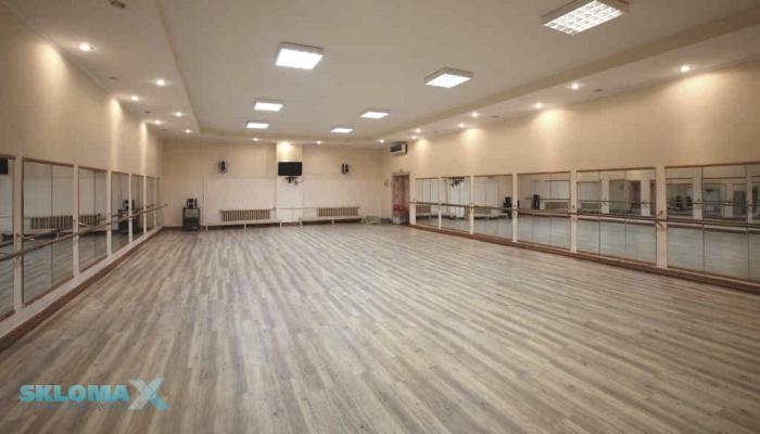 Зеркала в хореографическом зале Фото