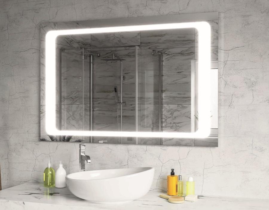 Зеркало с подсветкой (ванная) Фото