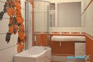 Крепление зеркала к стене в ванной