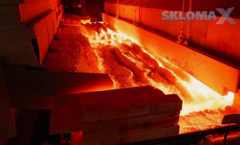 печь для производства стекла Фото
