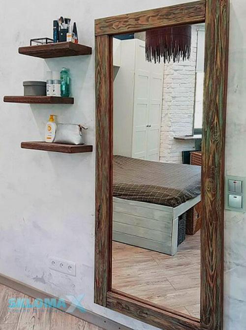 Рамка для зеркала из дерева