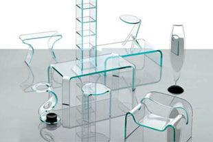 Мебель из стекла главные плюсы и минусы